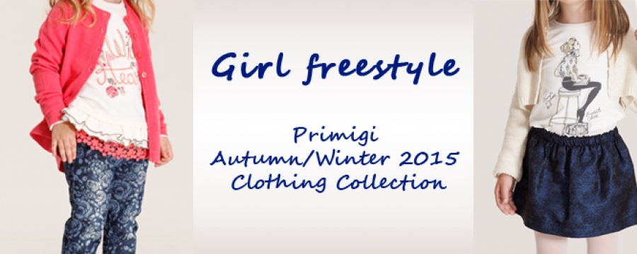 Primigi fall winter 2015-2016 girls collection