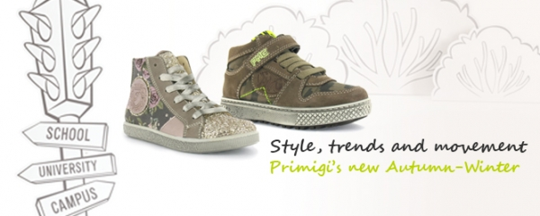 Style, trends and movement: Primigi's new Autumn-Winter