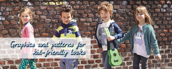 Graphics and patterns for kid-friendly looks